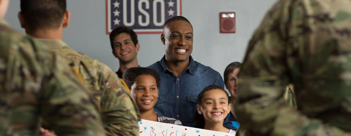 Celebrate with USO Hampton Roads and Central Virginia